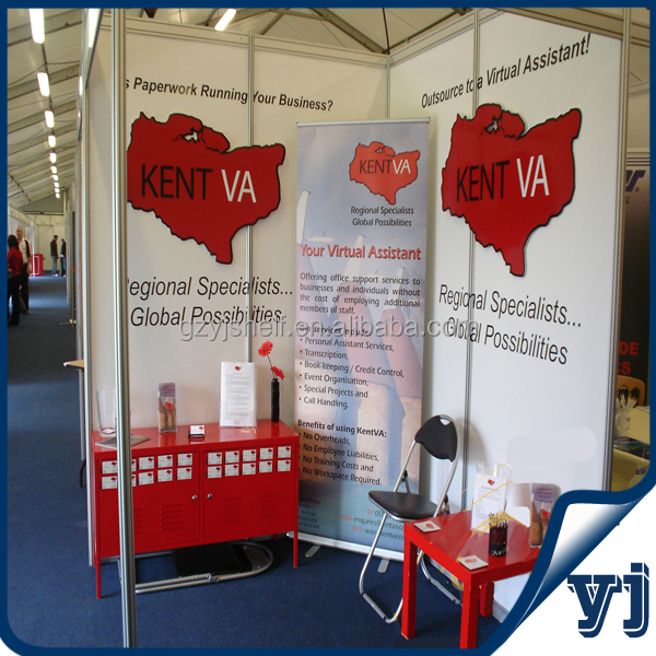 Exhibition Booth Assistant : Fashion aluminium profile exhibition system booth trade show