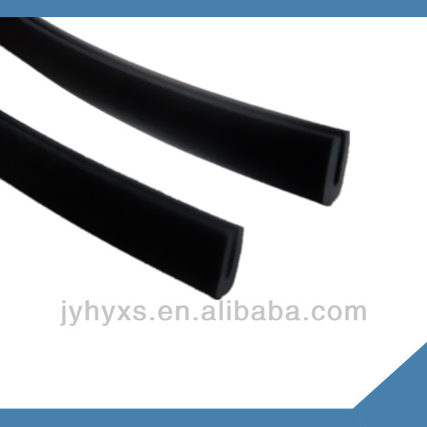 Jiangyin Huayuan supply EPDM extrusion solid rubber products ,for adhesive backed rubber strips