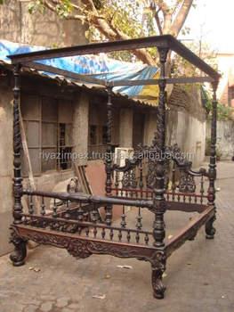 de48bef21d8fc Antique Four Poster Bed