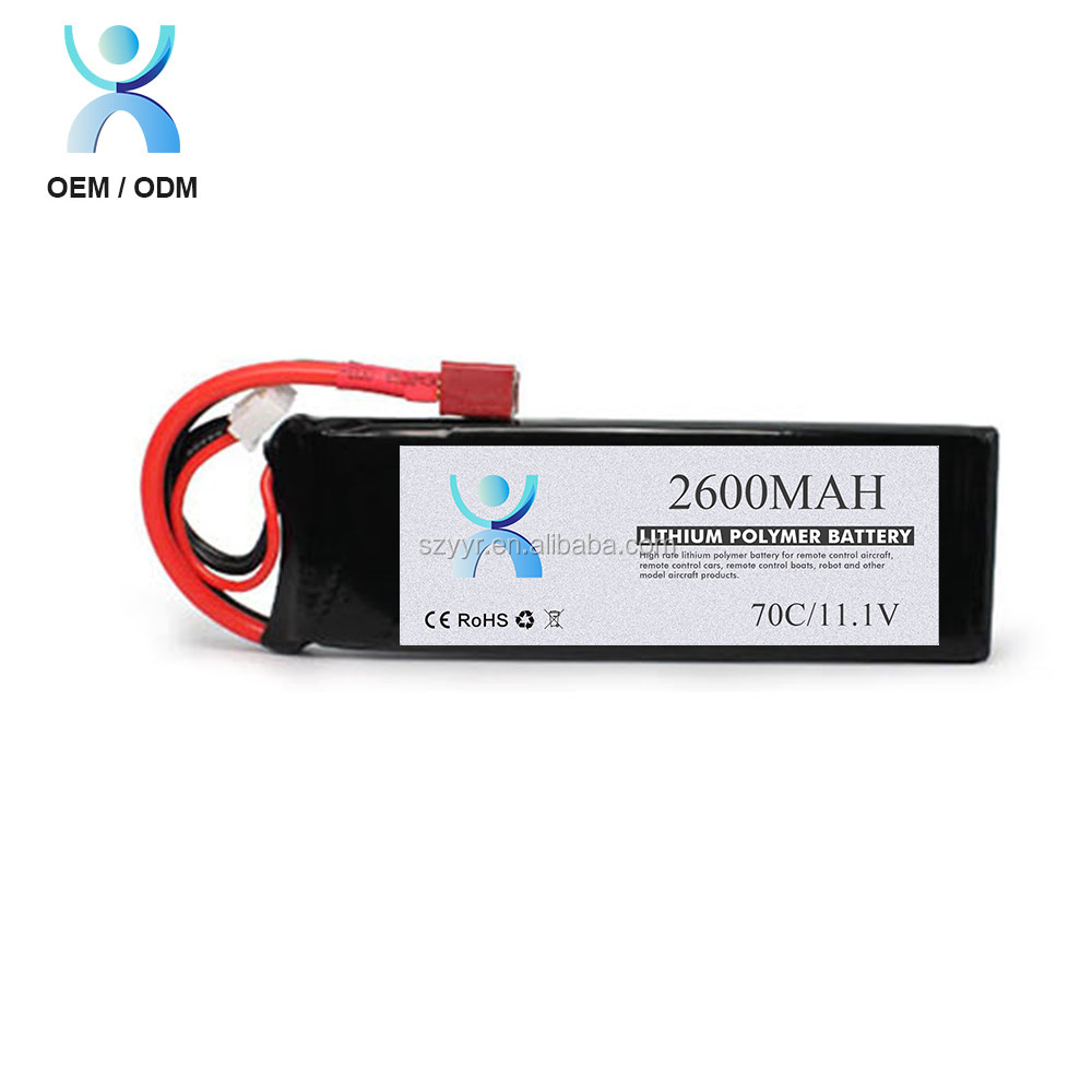 Factory price 11.1 volt li ion battery cell 2.6Ah li-ion battery pack