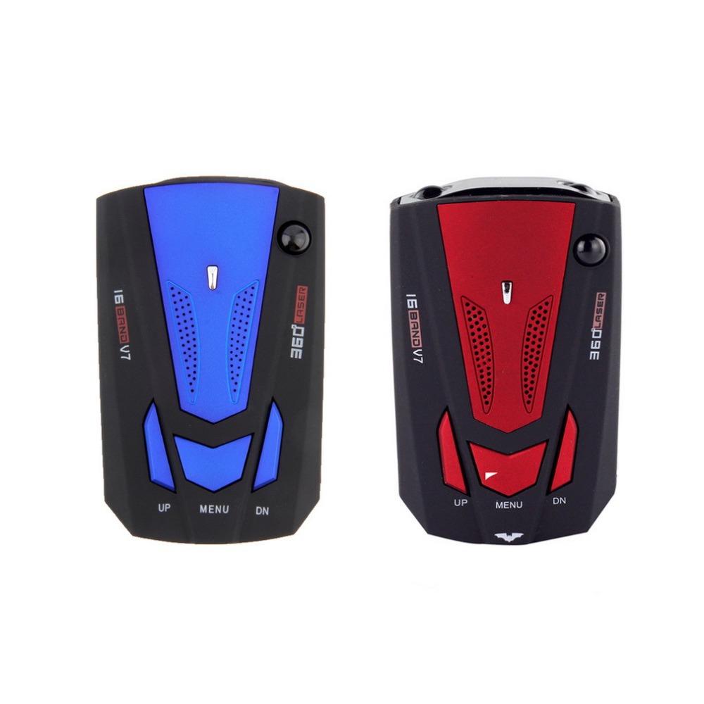 1 шт. автомобиля радар-детектор, 360 голосового предупреждения русский / английский голос для автомобилей скорость ограничена 16 группа новейший