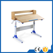 Top quality promotional white kid adjustable table