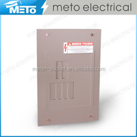 METO High Quality CH-6 way squared load center electrical power panel box