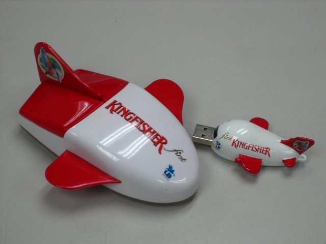 Aero Plane Mouse + Flash Drive for Air Line Promotion