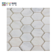 Professional Supplier High Quality Wave Glossy Matt Mix Stone Glass Mosaic Tile