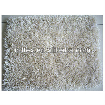 Soft Microfiber Polyester Shaggy Rug For Living Room