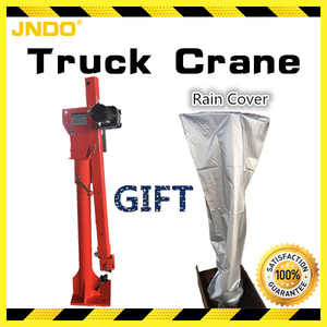 Fire-new portable truck crane with rain cover