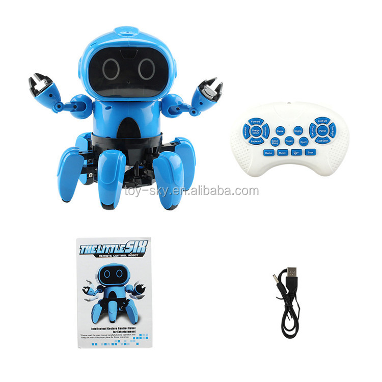 Intelligent Induction RC Robot DIY Assembled Toys