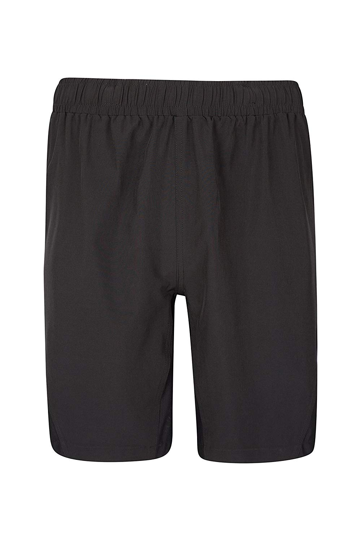 Mountain Warehouse Mountain 2-in-1 Mens Bike Shorts -Padded Cycling Pants