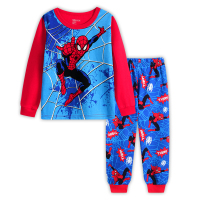 Guangzhou wholesale kids pajamas girls and boys children pyjamas Nightwear Sleepwear Toddler Clothing Set Size Age 2-7 Years