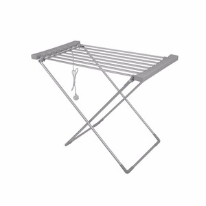 EVIA heated laundry rack folding lidl clothes airer aluminum electric clothes rack stand