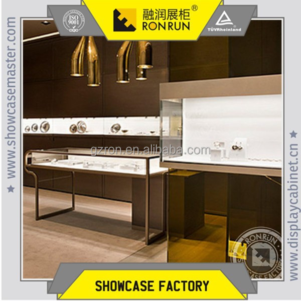 China Supplier Luxury Jewelry Display Showcase Design And Rose ...