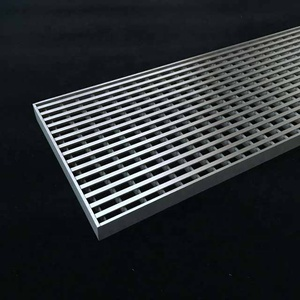 Long Heavy Duty Stainless Steel Linear Trench Drain Grate