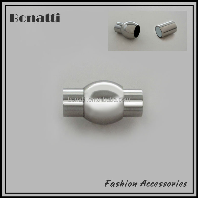 magnetic tube clasps for necklaces or bracelets