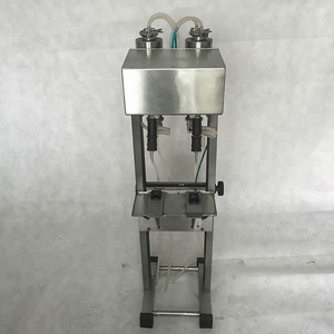 Semi-automatic two heads vacuum perfume glass bottle filling machine filler