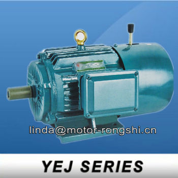 YEJ series electric motor braking system