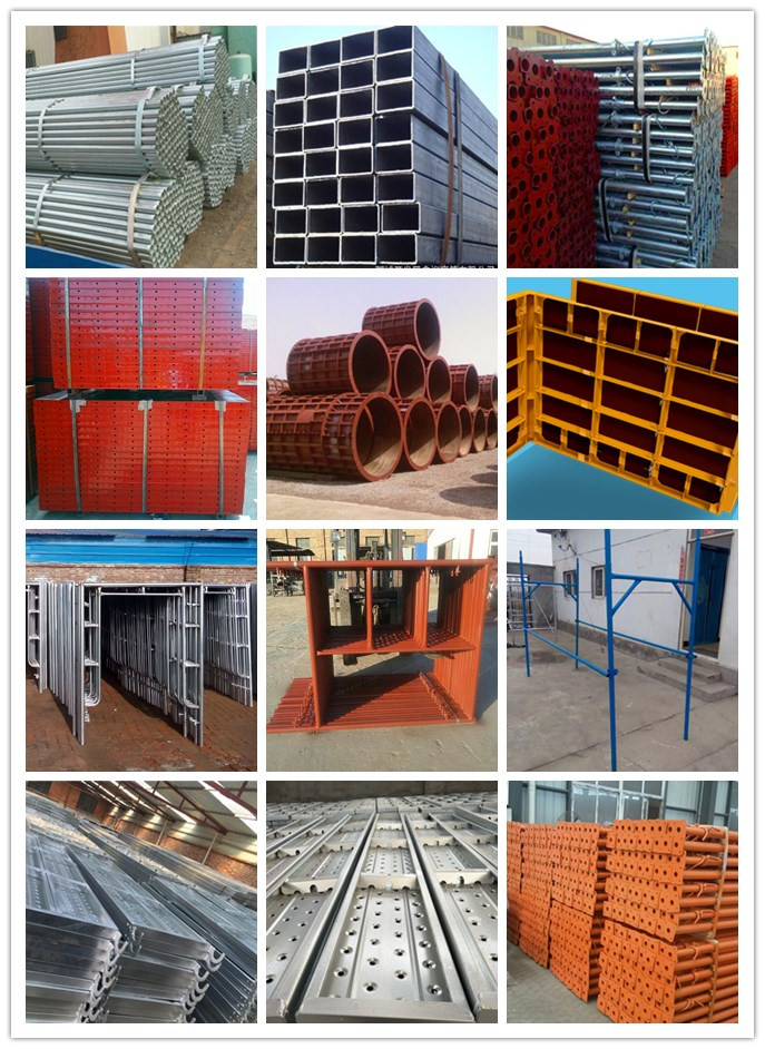 Tianjin TSX Adjustable Steel Molds Formwork for Square Pillar Column Wall