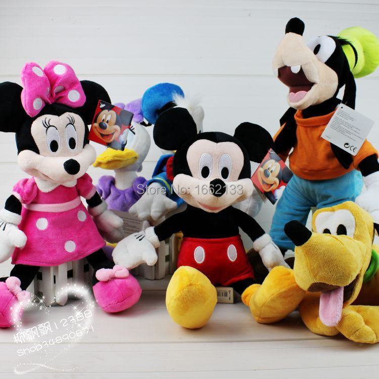 12''30cm 6pce/lot Mickey Mouse Clubhouse Mickey Minnie ...