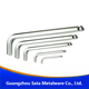 Alloy steel metric CR-V ball point allen hex key wrench screwdriver M1.5 M2 M2.5 M3 M4 M5 M6 M8 M10
