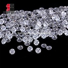 China Factory 1.0mm High Quality Round Diamond Synthetic Moissanite