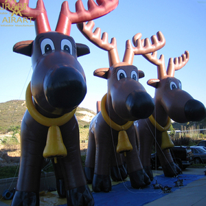 Discount products decoration giant inflatable reindeer advertising inflatable