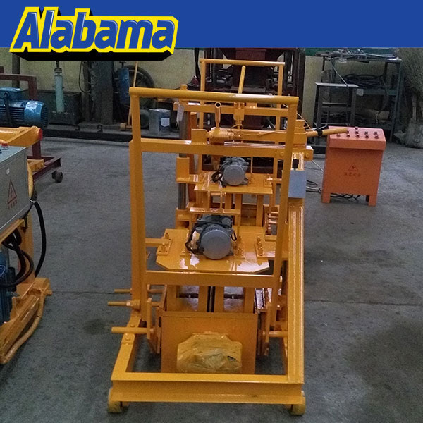 Made in china insulated concrete forms concrete mobile block machine