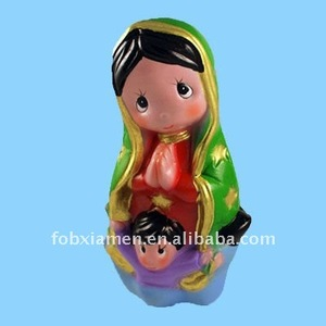 resin our lady of guadalupe religious figurine statue