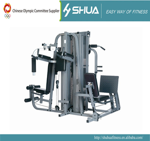 5 Station Home gym Multi gym equipment exercise machine