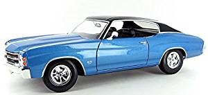 MAI31890BL MAISTO - 1971 Chevrolet Chevelle SS454 Sport Coupe