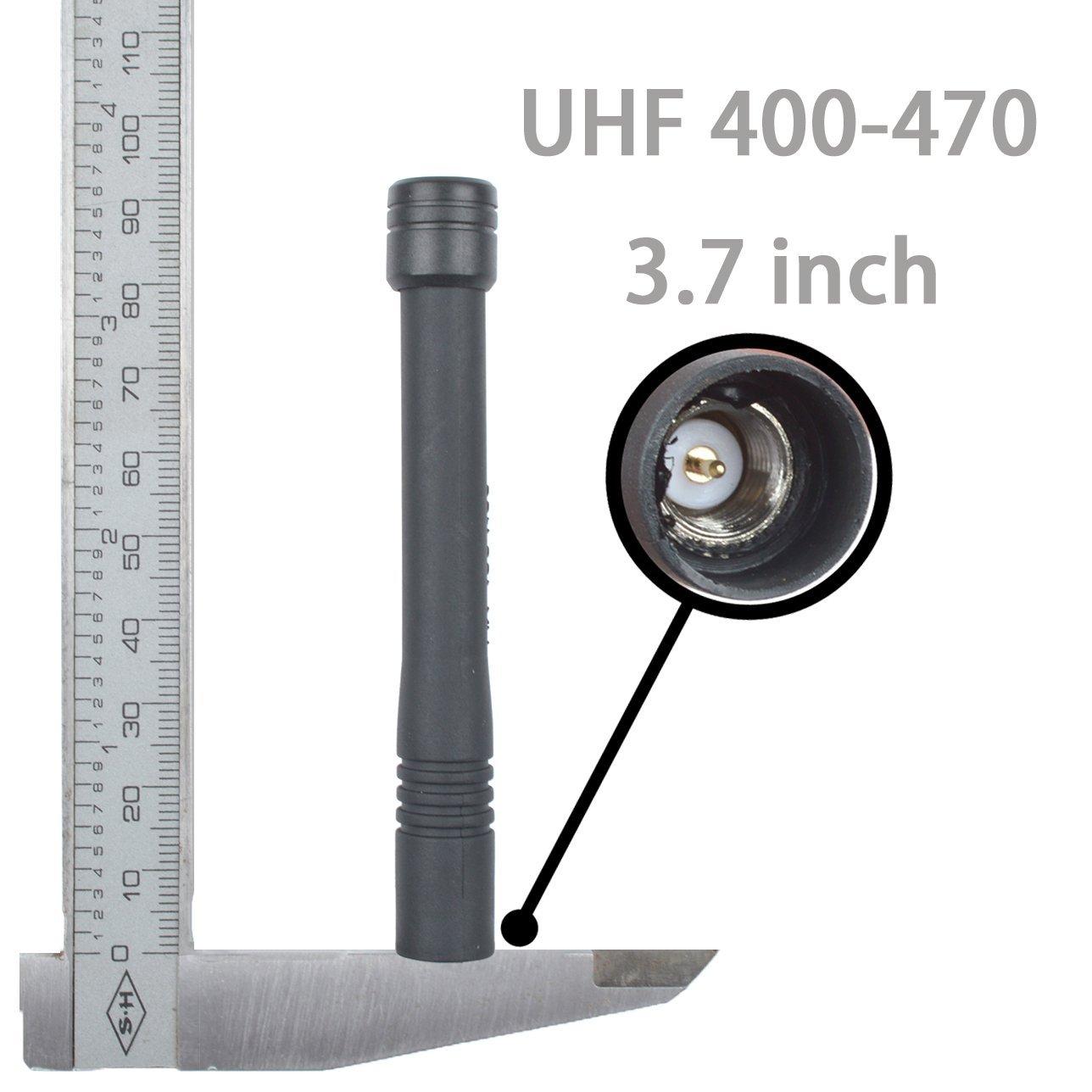 UHF 400-470MHZ Long SMA Antenna Vertex YEASU VX231 VX351 VX160 VX210 VX921 VX924