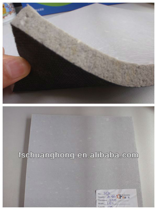 Low price flooring accessories carpet padding