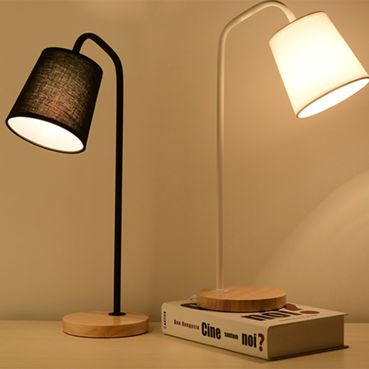 Modern table lamps Rustic Style Bamboo desk light Creative book lamp beside table