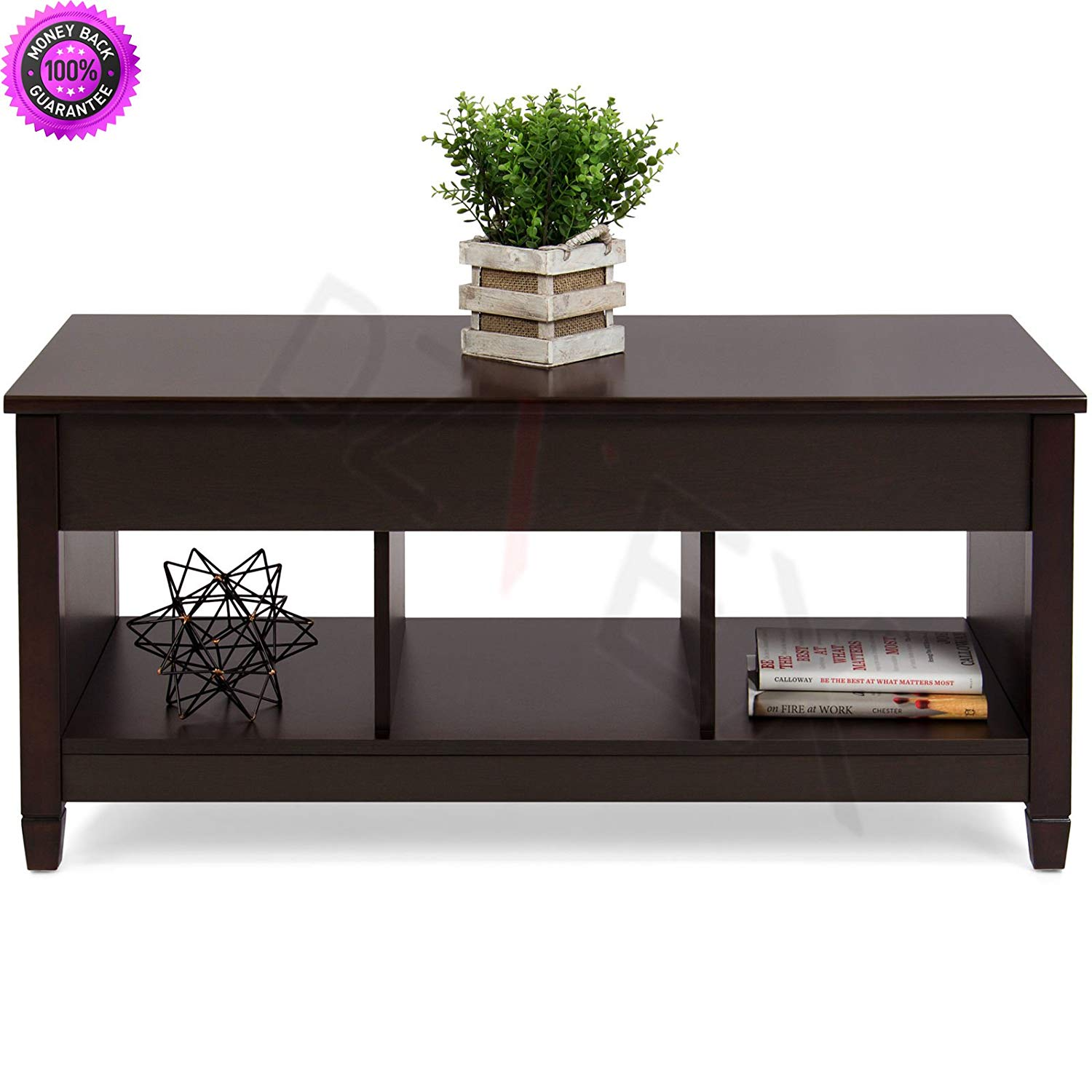 Get Quotations Dzvex Home Lift Top Coffee Table Furniture Hidden Compartment And Accent Tables Wood