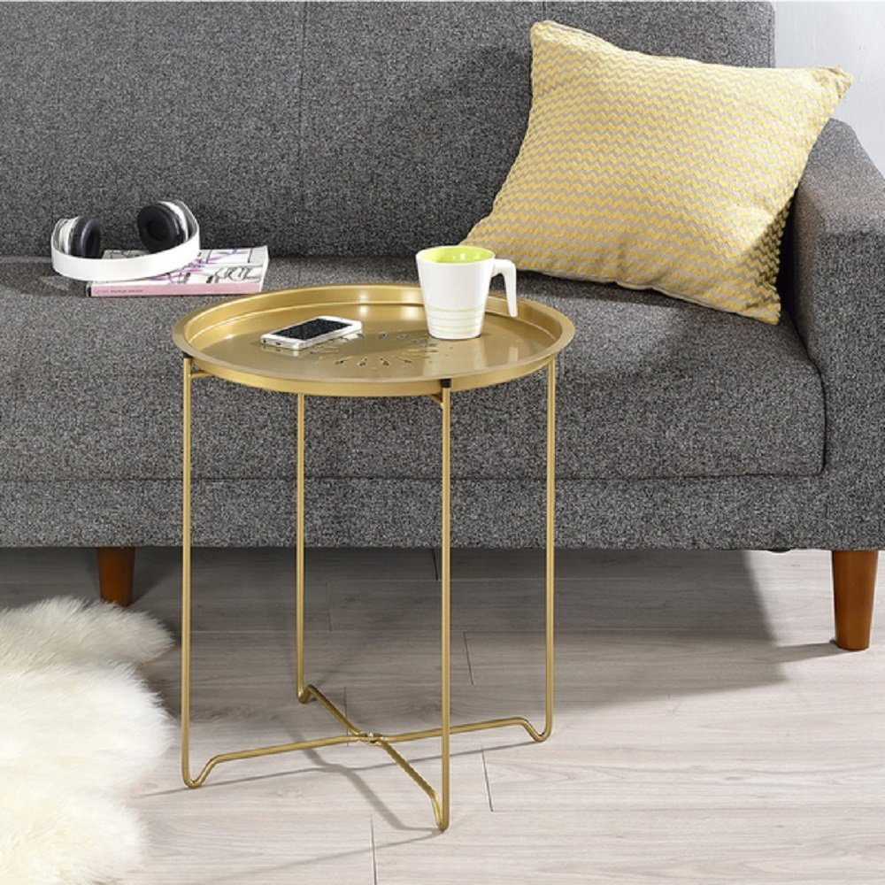 Get Quotations End Tables For Living Room Folding Home Furniture Snack Accent Table Tv Tray Sofa