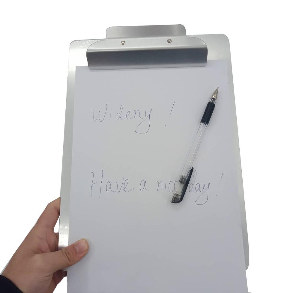 Производство Прямая Продажа Алюминий двойной чехол для хранения складной спецодежда медицинская кормящих логотип буфер с зажимы