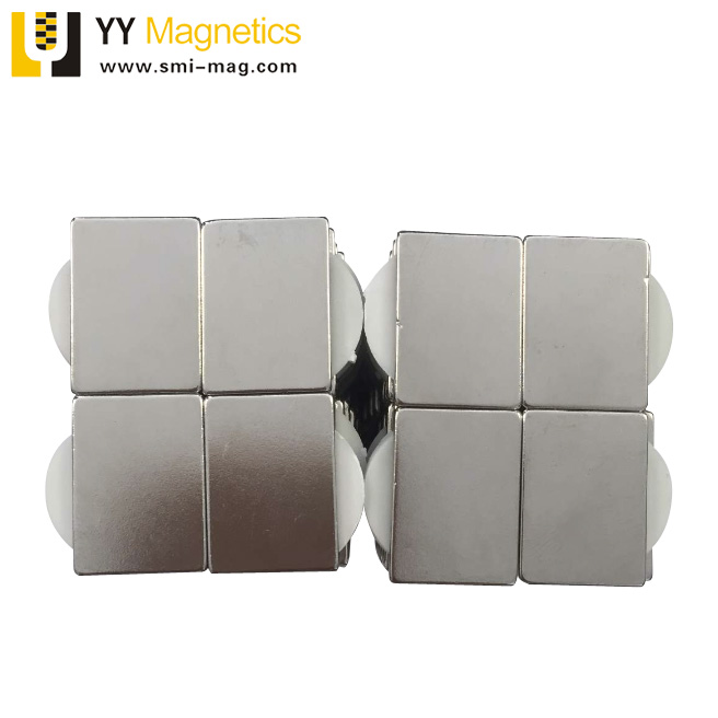 22x16x2mm rare earth magnetic block Neodymium magnet sheet