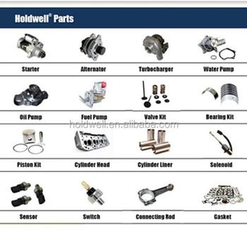 D722 Engine Parts For Denyo Dis 55sb Diesel Engine