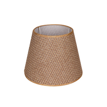 Paper String Mesh Lampshade Table Lamp PCV Lining E27 White Plating