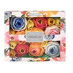 Heathcote & Ivory Patterns & Petals Soap Flowers 70g (PACK OF 2)