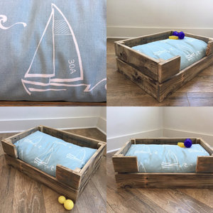 Reclaimed Wood Dog/Cat Pet Bed