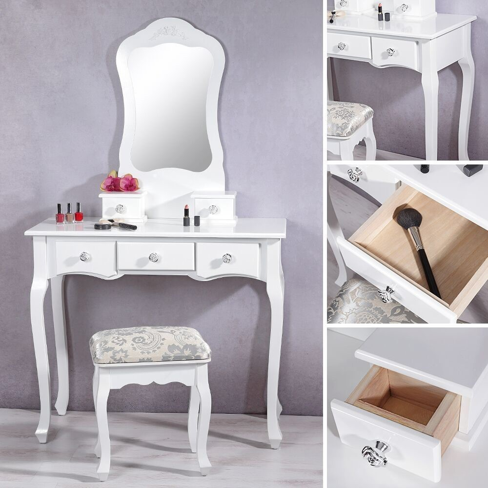 Madera Cosm Ticos Maquillaje Vanidad Muebles Tocador Moderno Buy  # Muebles Tocadores Modernos