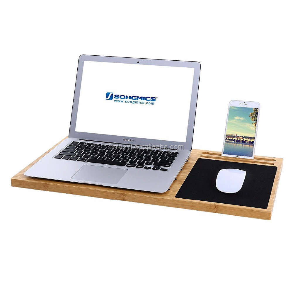 Lap Desk Board Multi Tasking Laptop Tablet Cellphone Stand Holder with Built-in Mouse Pad ULLD560
