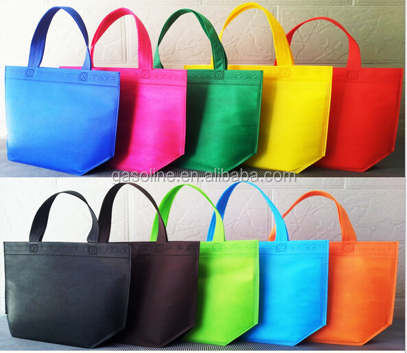 2017 Best Selling 10 Color Non Woven <strong>Tote</strong> Bag