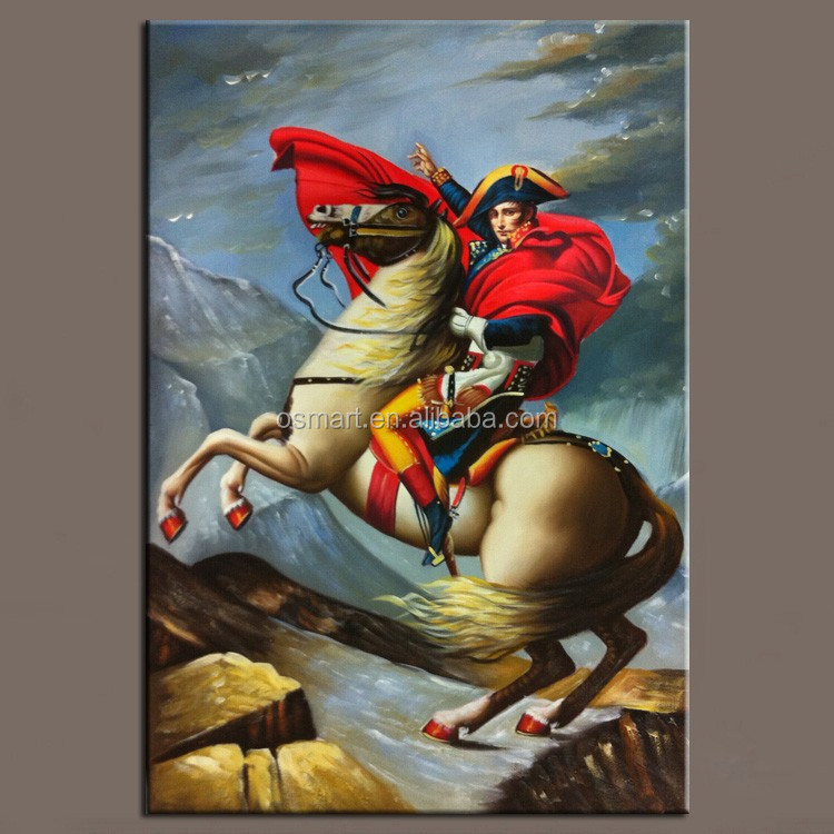 Skilled Artist Pure Hand-painted Reproduction Napoleon Oil Painting on Canvas Realist Napoleon Portrait Oil Painting
