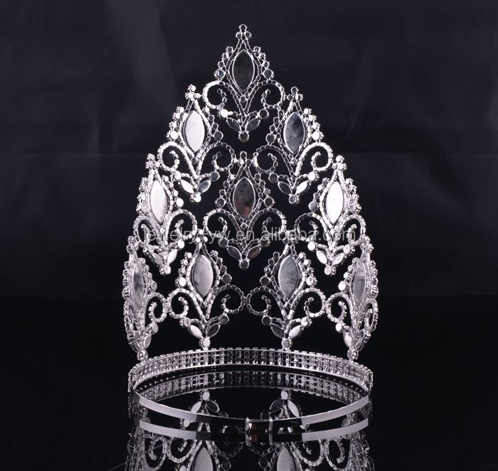 Hair Accessories Wholesale China Big Rhinestone Pageant Crowns ...