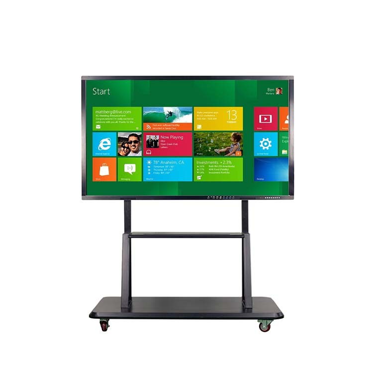 China een touch screen interactieve led smart whiteboard