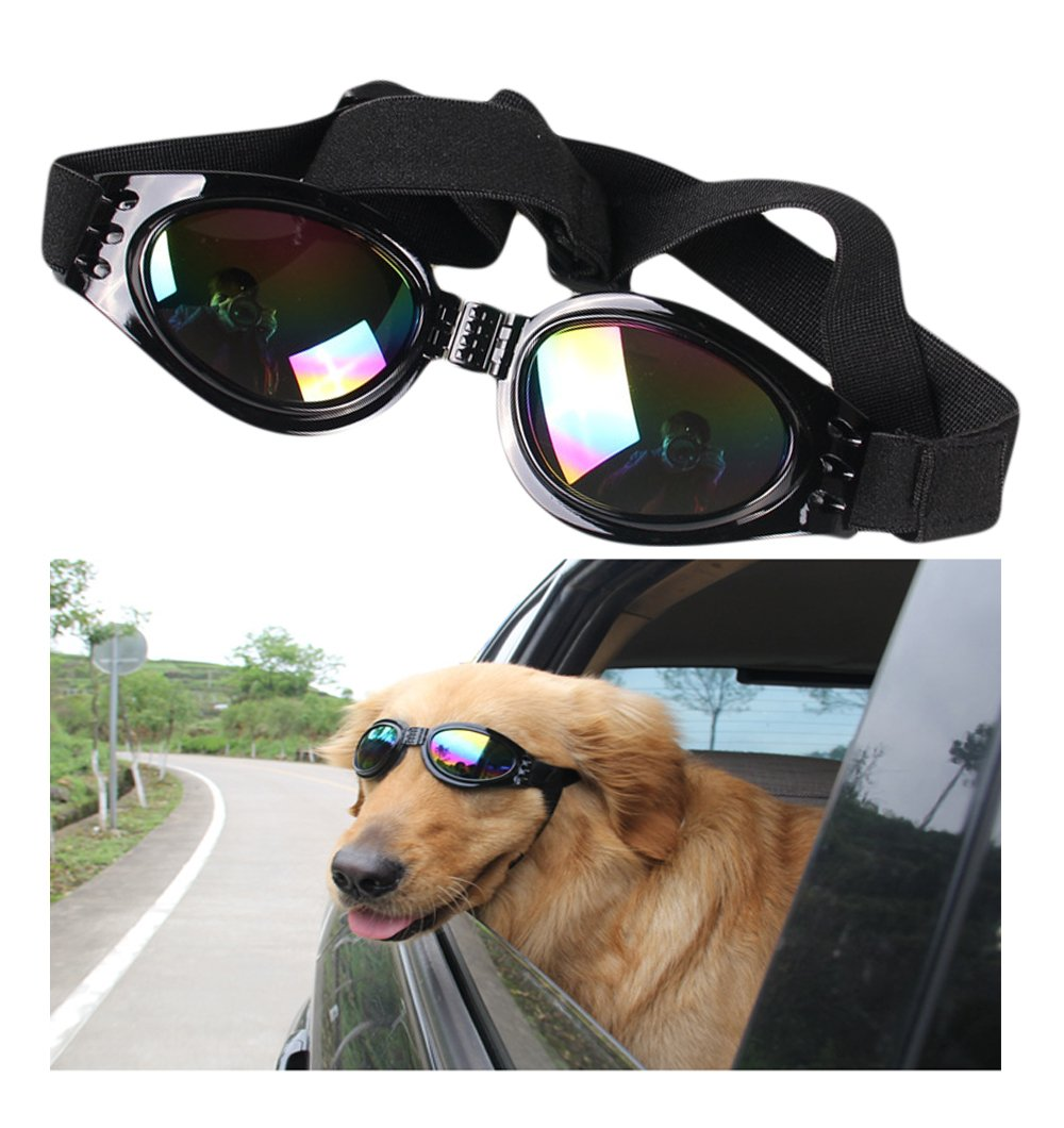 01ca8e1385521 Dog Sunglasses Pet Glasses Dog Glasses Dog UV Protective Foldable  Sunglasses Dog Goggles Eye Wear Protection