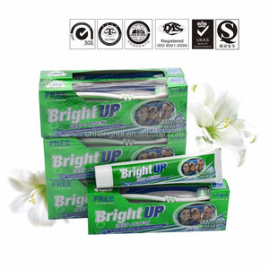 different private label adult mint flavor whitening fluoride free glister toothpaste brand guangzhou factory