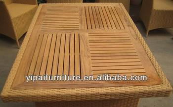 Rectangle Teak Wood Table Top For Outdoor Or Indoor Yt26t View Wood Table Tops For Sale Yipai Product Details From Foshan Shunde Yipai Furniture
