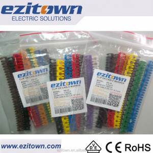 Excellent Quality Reasonable Price KN POM New Style Ezitown Wire Clip Type Snap On EC Cable Marker